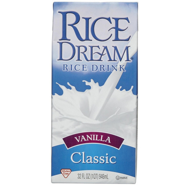 Image of Rice Dream Rice Drink, Vanilla Classic 32 oz