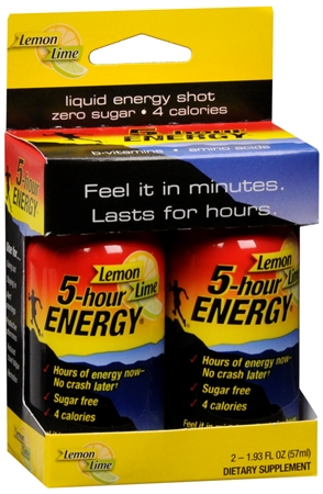 Image of 5 Hour Energy Drink Lemon Lime 4 oz
