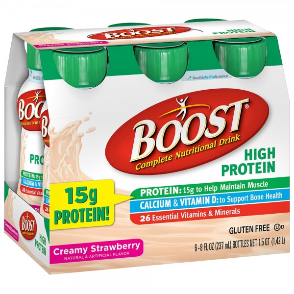 Boost High Protein Energy Drink, 8 Oz