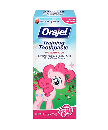 Orajel Toddler My Little Pony Training Toothpaste, Pinky Fru 1236685