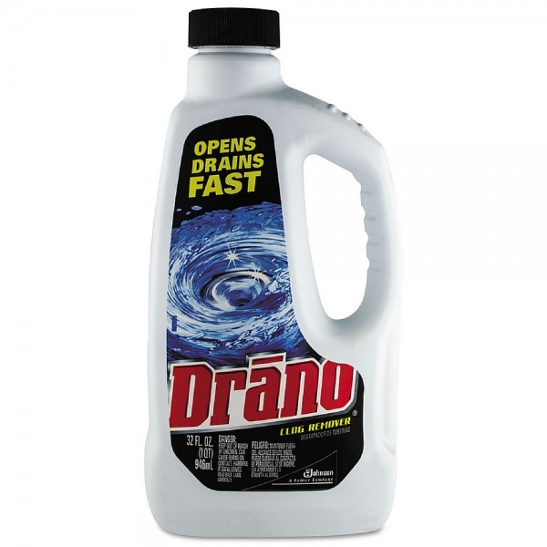 Drano Liquid Clog Remover Drain Cleaner 32 oz 1421165