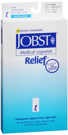 JOBST Medical LegWear Knee High 20-30 mmHg Firm Compression 1198515