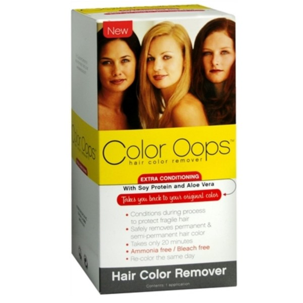 Color Oops Hair Color Remover Extra Conditioning 1 Each 1183665