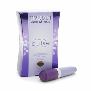 TROJAN Vibrations Vibrating Pulse Intimate Massager 1 ea 1321825