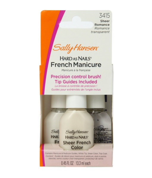 Sally Hansen Hard as Nails French Manicure Kit, Sheer Romanc 1361295