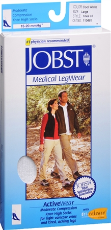 JOBST ActiveWear Knee High Socks Moderate Compression Closed 1137500