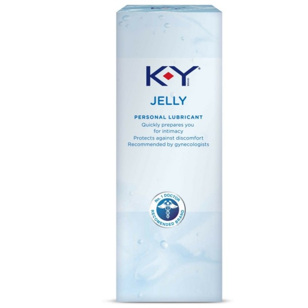 K-Y Jelly Personal Water Based Lubricant, 2 Oz 1190495