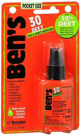 Image of Ben's 30 DEET Tick and Insect Repellent Pocket Size 1.25 oz