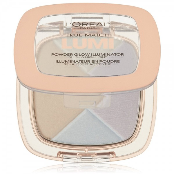 L'Oreal Paris True Match Lumi Powder Glow Illuminator, Ice [ 1432550