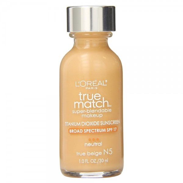 L'Oreal Paris True Match Super-Blendable Makeup, True Beige 1356600