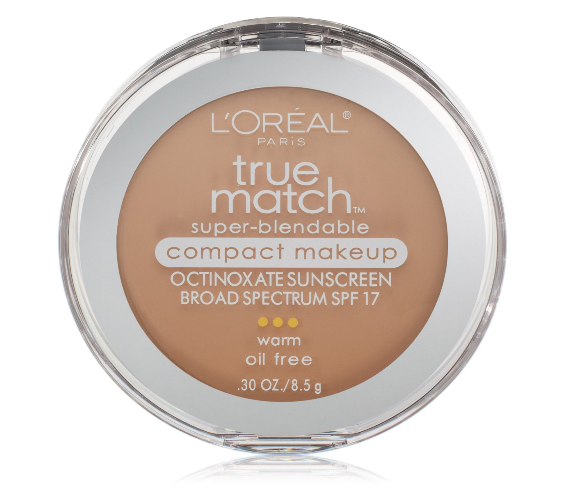 L'Oreal True Match Super-Blendable Compact Makeup, Nude Beig 1358135