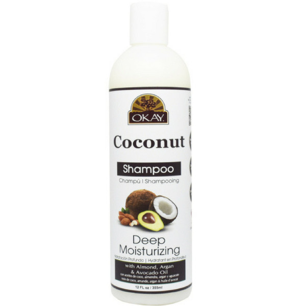 Okay Pure Naturals Coconut Shampoo Deep Moisturizing 12 oz 1500195