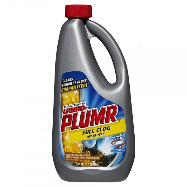 Liquid Plumr Pro-Strength Full Clog Destroyer 32 oz 1434875