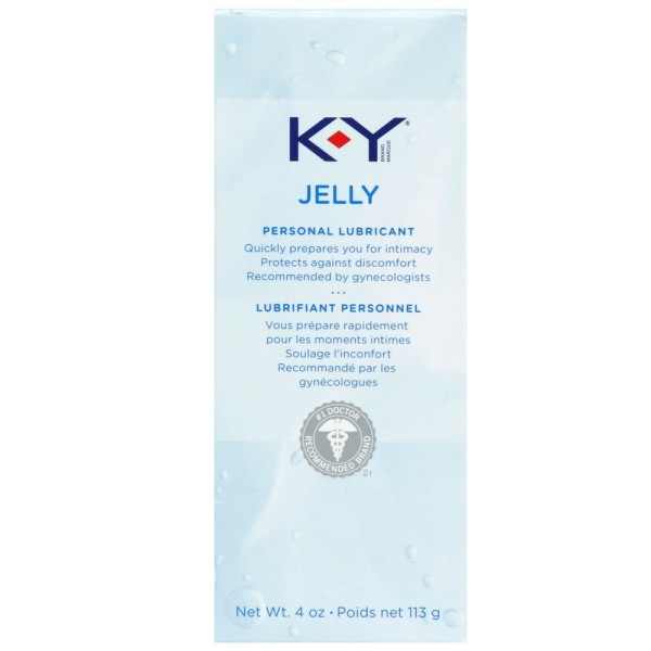 K-Y Jelly Personal Water Based Lubricant, 4 Oz 1190490