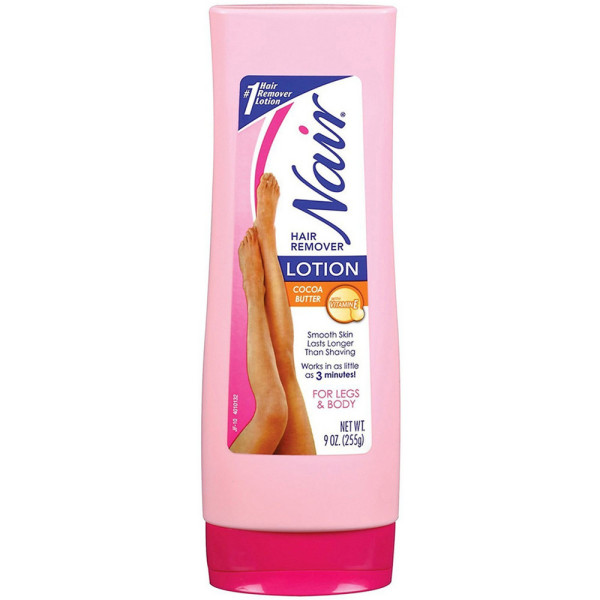 Nair Hair Remover Lotion For Legs & Body, Cocoa Butter With 1183935