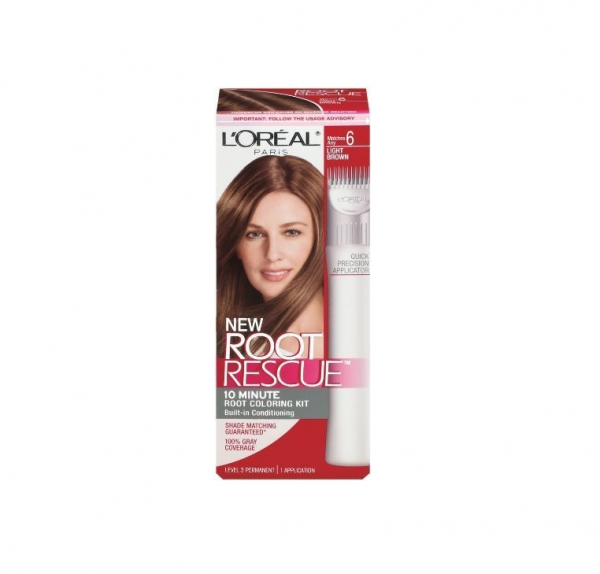 L'Oreal Root Rescue 10 Minute Root Coloring Kit, 6 Light Bro 1133035