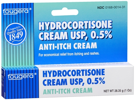 Fougera Hydrocortisone Cream USP 0.5% 1 oz 1188320