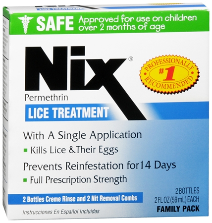 Nix Lice Treatment Family Pack 4 oz 1193260