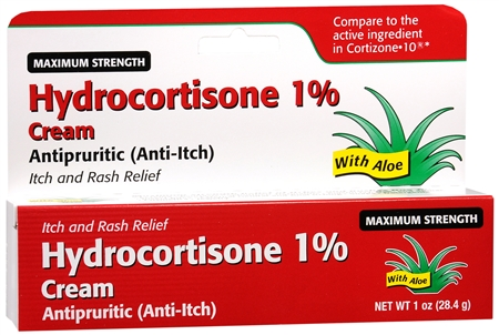 Taro Hydrocortisone Cream 1% Maximum Strength 1 oz 1188315