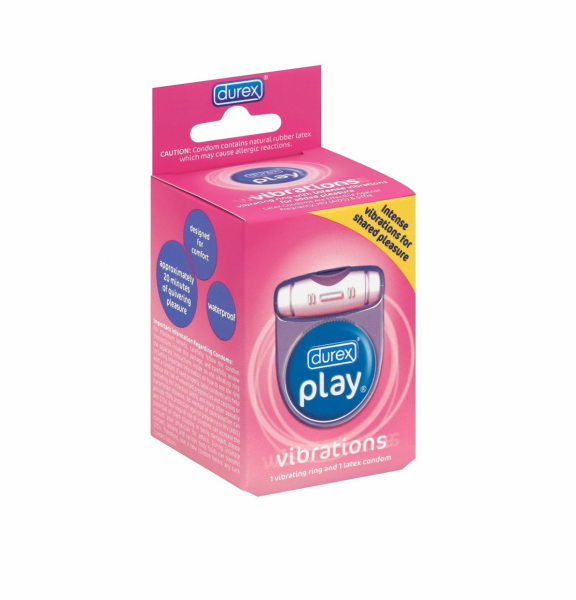 Durex Play Vibrations Vibrating Ring 1 EA 1478440