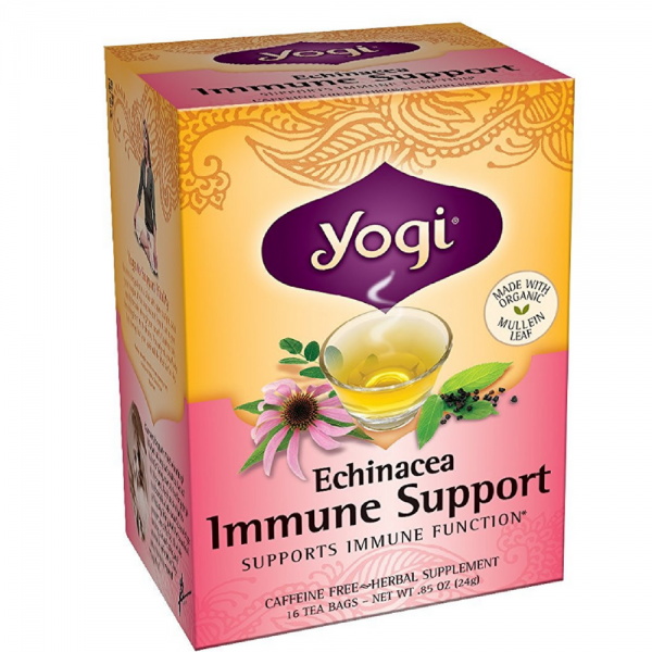 Yogi Herbal Tea Bags, Echinacea Immune Support 16 ea 1185225