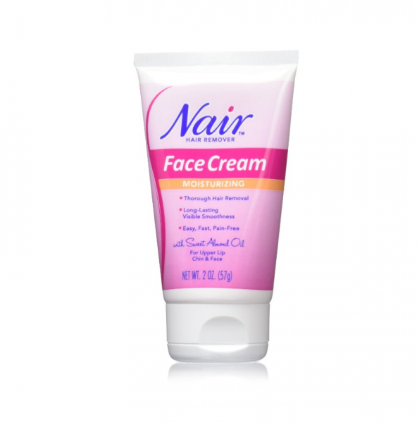 Nair Hair Remover Moisturizing Face Cream 2 oz 1183955