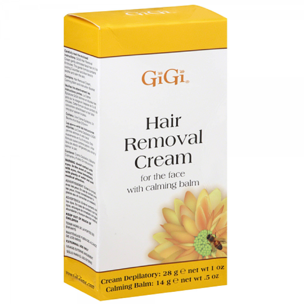 GiGi Hair Removal Cream with Calming Balm For Bikini & Legs 1430730