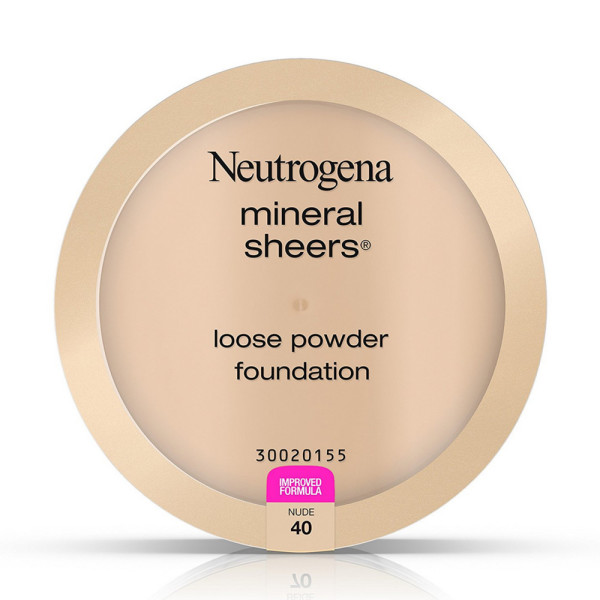 Neutrogena Mineral Sheers Loose Powder Foundation, Nude [40] 1373005
