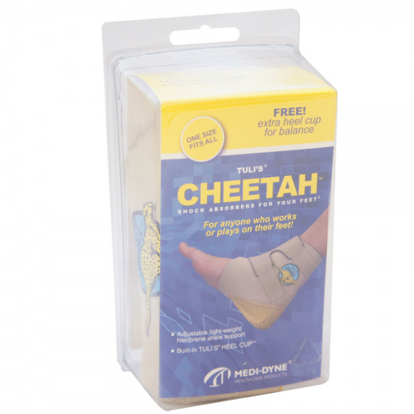 Tuli's Cheetah Heel Protector, One Size Fits All, Adult 1 ea 1154475