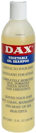 Image of Dax Vegetable Oil Shampoo 12 oz