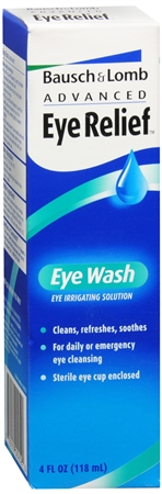 Bausch & Lomb Advanced Eye Relief Eye Wash 4 oz 1138190