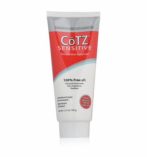 Cotz Sensitive Sunscreen, SPF 40 3.5 oz 1322790