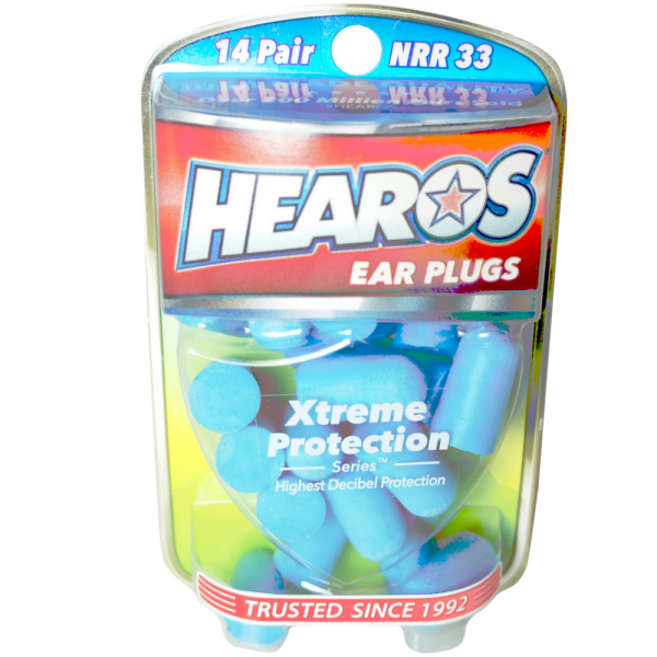 Hearos  Ear Plugs Xtreme Protection  Series 14 pairs 1297245