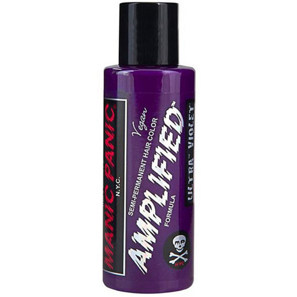 Manic Panic Amplified Hair Color, Ultra Violet 4 oz 1540555