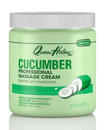 QUEEN HELENE Professional Massage Cream, Cucumber 15 oz 1396465