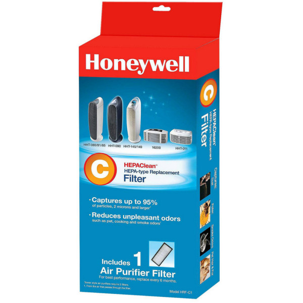 Honeywell HEPA Clean Air Purifier Replacement Filter 1 ea 1482220
