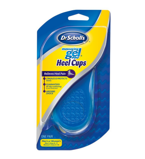 Dr. Scholl's Massaging Gel Heel Cups Medium 1 Pair 1197000
