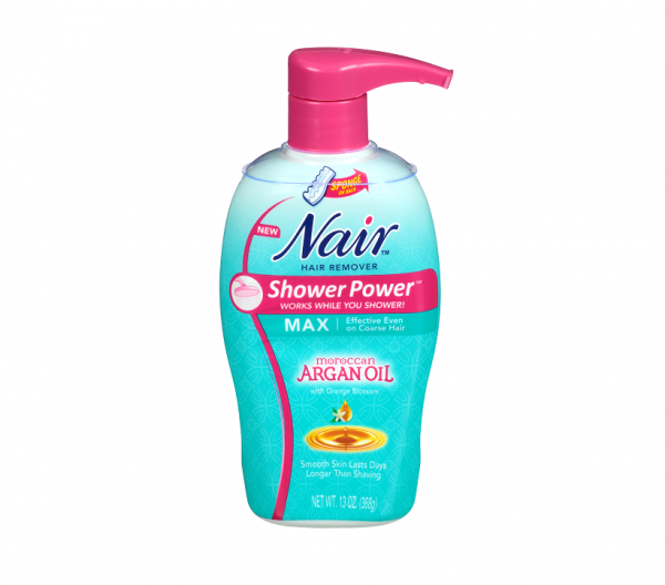 Nair Shower Power Max with Moroccan Argan Oil, Cream for Leg 1402855