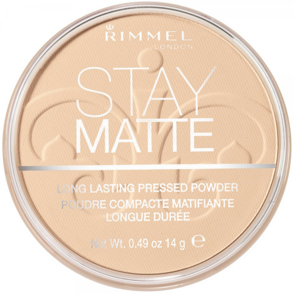 Rimmel London Stay Matte Long Lasting Pressed Powder, Transp 1351975
