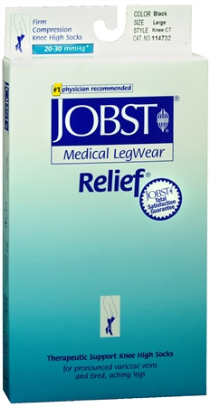 JOBST Medical LegWear Knee High 20-30 mmHg Firm Compression 1198495