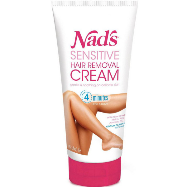 Nad's Sensitive Hair Removal Cream 5.1 oz 1495790
