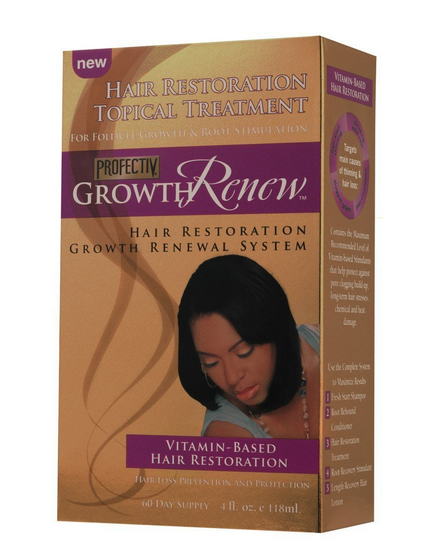 Profectiv Growth Renew Hair Restoration Topical Treatment, 4 1394880