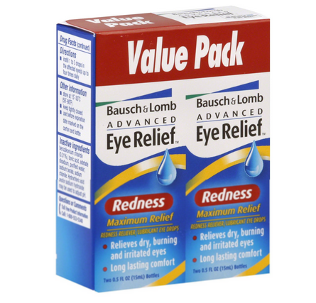 Bausch & Lomb Advanced Eye Relief Maximum Redness Reliver, V 1401300