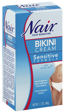 Nair Hair Remover Bikini Cream With Green Tea Sensitive Form 1183865