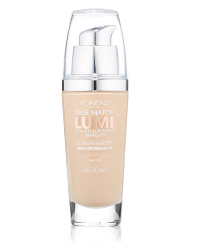 Image result for L'Oreal Paris True Match Lumi Healthy Luminous Foundation png
