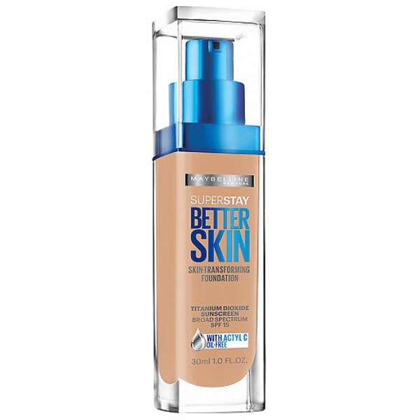 Maybelline New York SuperStay Better Skin Foundation, Natura 1419300