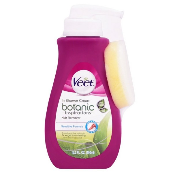 Veet In Shower Hair Removal Cream, Botanic Inspirations, Leg 1480015