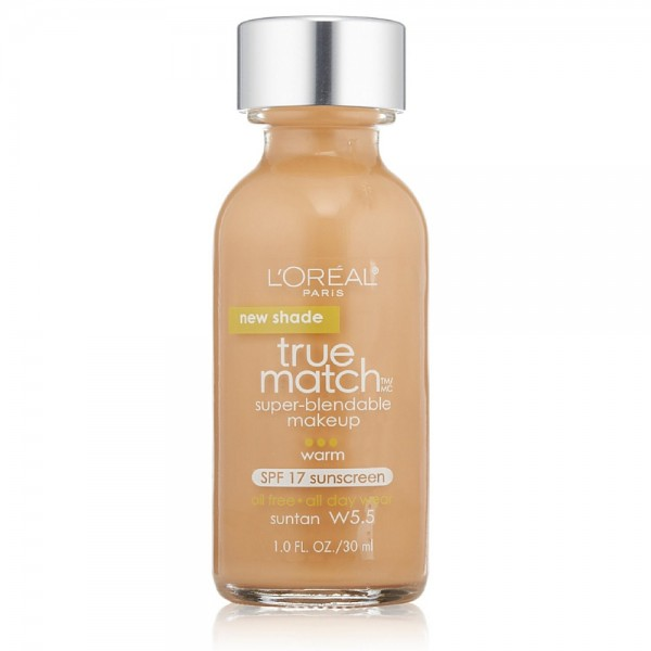 L'Oreal Paris True Match Super-Blendable Makeup, Warm Sun Ta 1356470