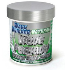 Image of WaveBuilder Natural Wave Pomade Healthy Wave Former, 3 oz