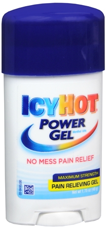 ICY HOT Power Gel Pain Reliever Gel Maximum Strength 1.75 oz 1214640